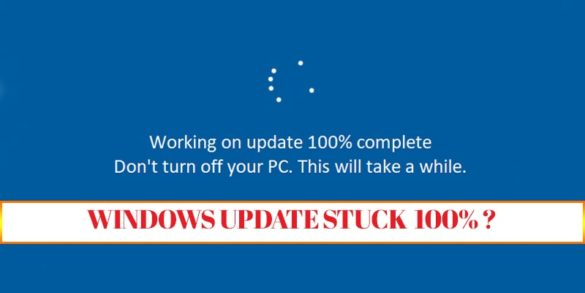 Windows Update Stuck 100-min