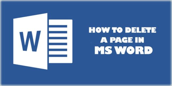 how to delete a page in word-min( six easy way to delete a page )
