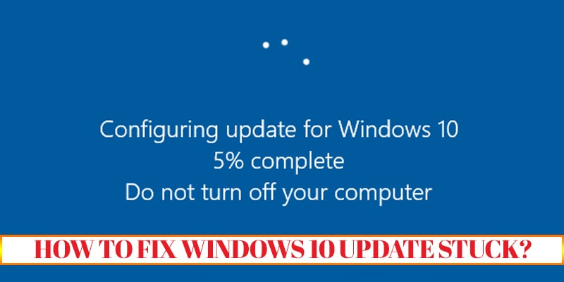 getting windows ready stuck