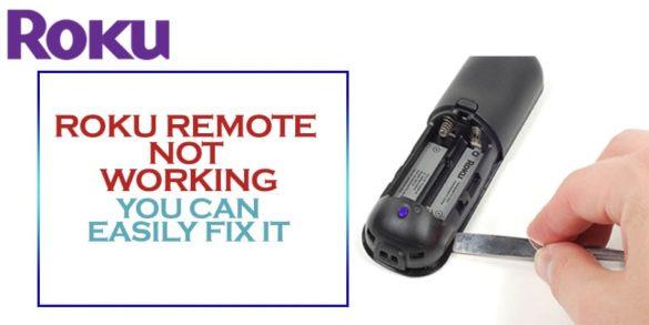 Roku remote not