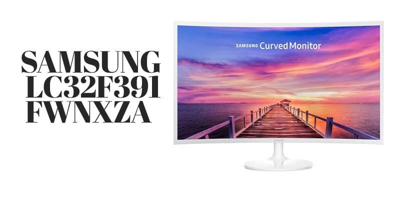 32 inch monitor  Samsung LC32F391FWNXZA