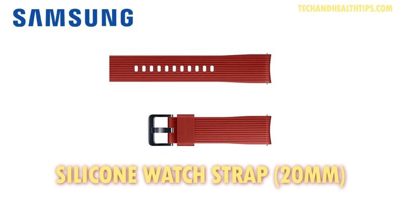 Samsung Silicone Strap 20mm-min