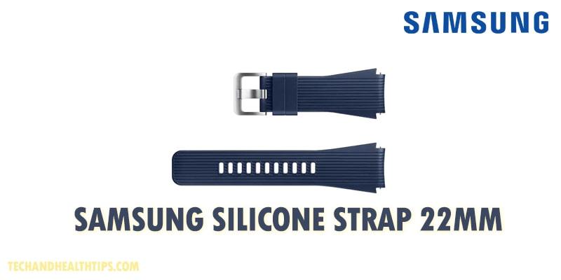 Samsung Silicone Strap 22mm-min