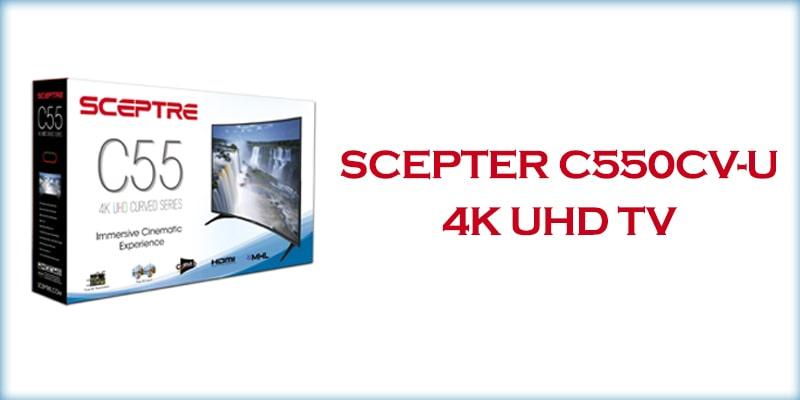 Scepter C550CV-U 4k