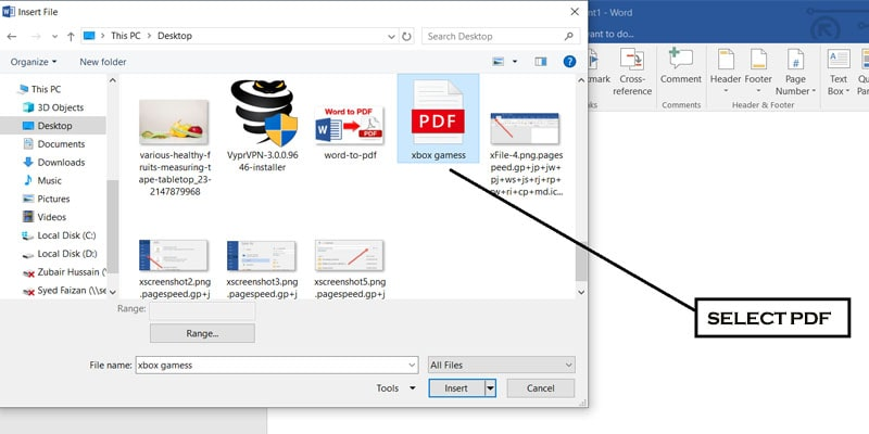 MICROSOFT OFFICE-PDF TO WORD DOC-Select pdf