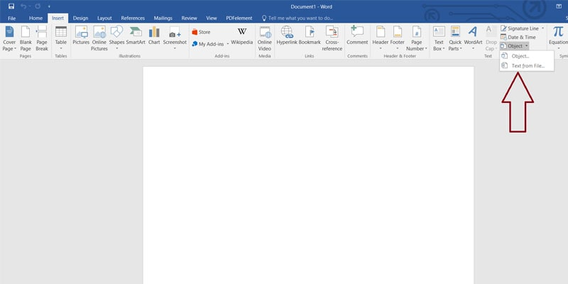 MICROSOFT OFFICE-PDF TO WORD DOC-object