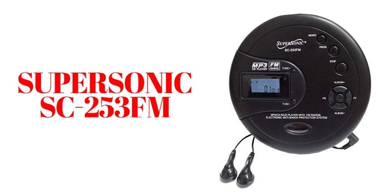 supersonic SC-253Fm player