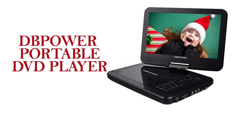DBPOWER -tv with dvd player