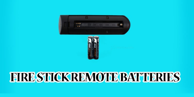 Fire Stick Remote Batteries-