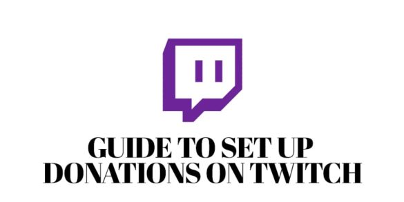 Guide to Set Up Donations on Twitch-min