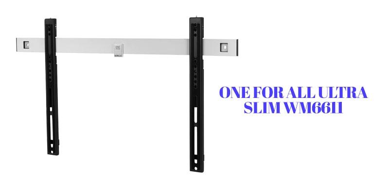 One For All Ultra Slim WM661-full motion tv divider mount