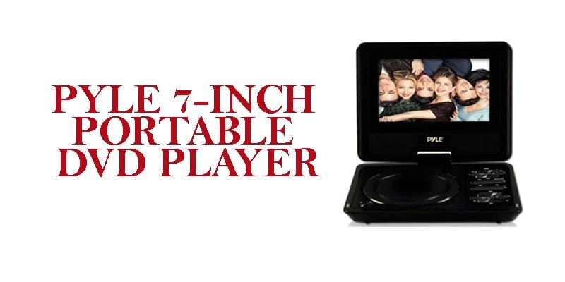 Pyle 7-dual screen portable dvd player