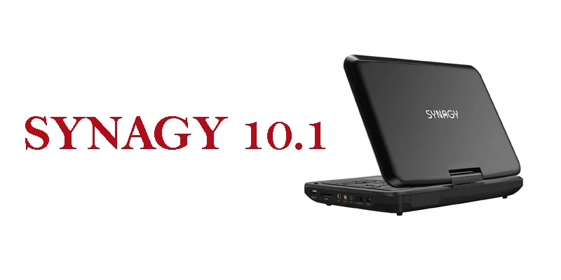SYNAGY 10-portable wireless dvd player