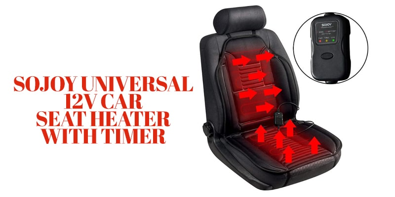 Sojoy Universal 12V Car Seat Heater with Timer-overnight car heater
