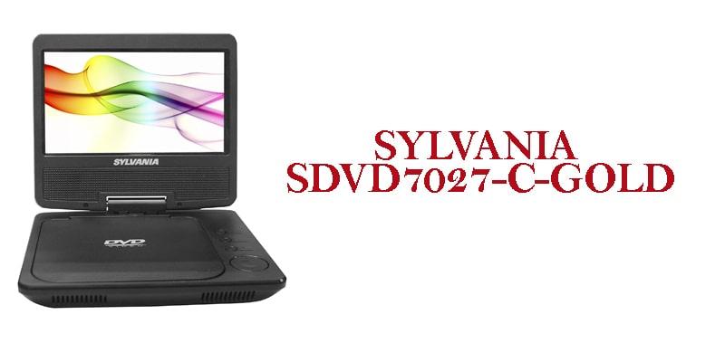 Sylvania SDVD7027-C-Gold mini dvd player