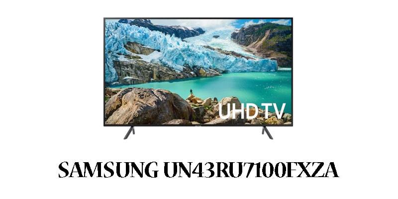 samsung UN43RU7100FXZA-42-inch