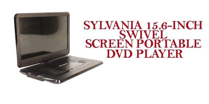 sylvania swivel screen-dvd blu ray player